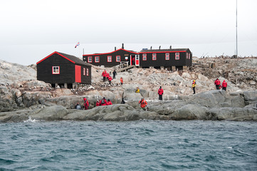 Museum and station in Antarctica