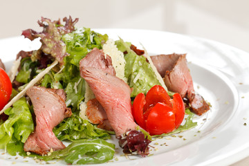 Salad with meat