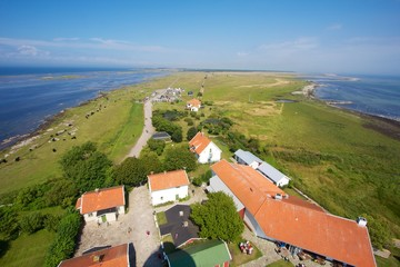 Oland, view from the lighthouse Långe Jan