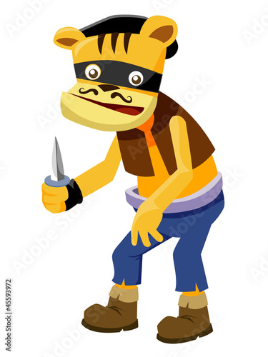 Animal Thief vector
