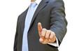 Businessman finger