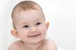 Wundervolles lachendes Baby Portrait