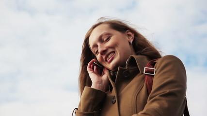 girl talking