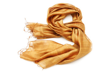 Golden scarf