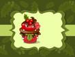 Muffin, Cupcakes Weihnachten Karte