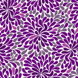 Repetitive violet pattern poster