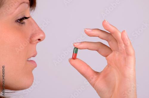 pille schlücken