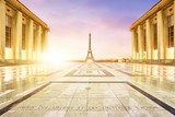 Fototapety Tour Eiffel Paris Trocadéro