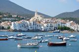 Vista de la localidad costera de Cadaques. Catalunya. poster