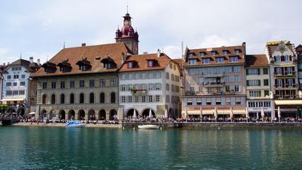 Das Rathaus in Luzern
