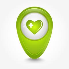Puntatore 3D_verde cuore