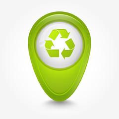 Puntatore 3D_verde eco