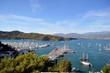 Fethiye marina with yachts. Turkey