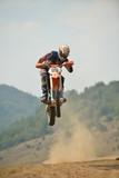 Fototapety motocross bike