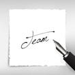 Team Handschrift