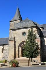église de Lubersac (Corrèze)