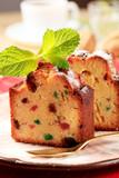 Fototapety Slices of fruit cake