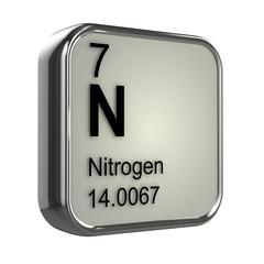 3d Periodic Table - 7 Nitrogen