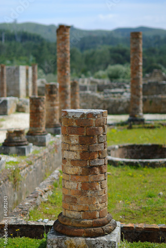 Archaeology pillars