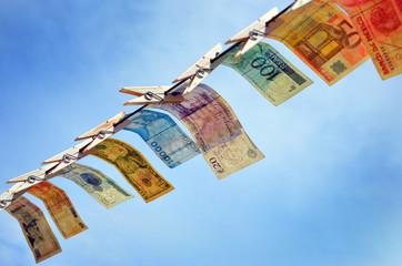 Money laundering Lavagem de dinheiro 洗錢