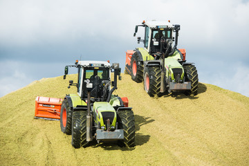 Silage fahren - Landwirtschaft