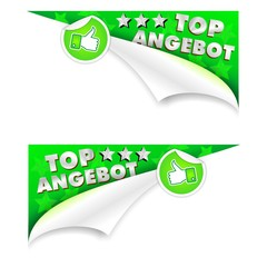 TOP ANGEBOT - like- ECKEN 3D - links und rechts