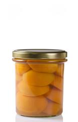 frutta sciroppata - albicocche