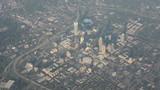 Aerial view of Charlotte, North Carolina