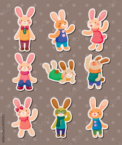 rabbit stickers