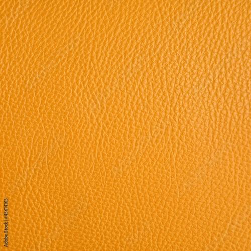 Staande foto Leder orange leather
