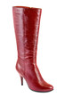 Red woman boot