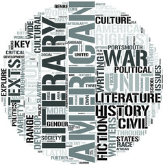 English And American Studies Word Cloud Concept