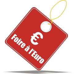 étiquette foire à l'euro