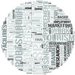 Hospitality Management With Tourism Word Cloud Concept
