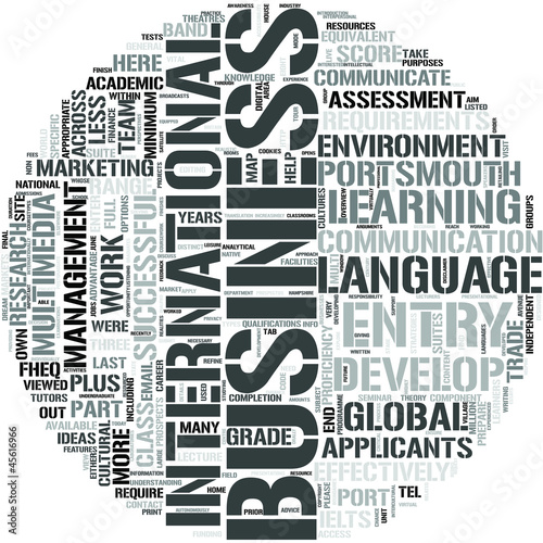 international business and communication International business communications main aim(s) of the unit: to prepare students to address business communication situations encountered in their careers through the writing of memoranda.