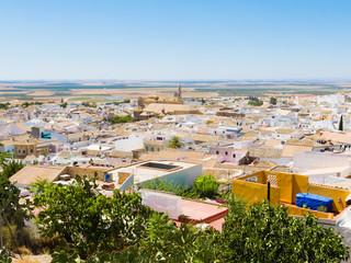 Vista aerea de Osuna , Sevilla