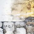 Sfondo astratto, muro di sassi