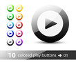 Play Button / Icon Set