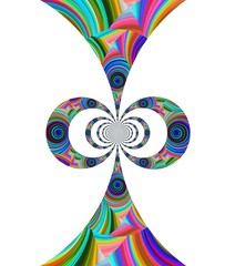 Abstract shape design