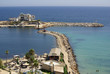 Sea coast in Monastir, Tunisia in Africa
