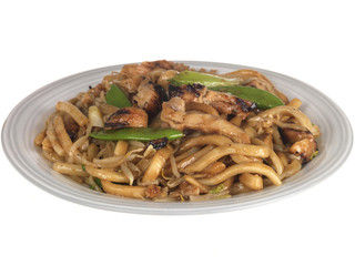 Miso Yaki Chicken Udon Noodles