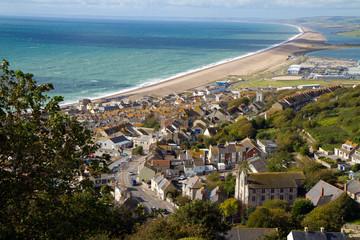Portland and Chesil beach Dorset near Weymouth