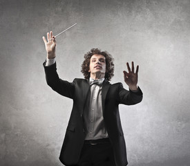 Conducting an Orchestra