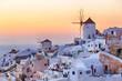 Leinwanddruck Bild - Oia - Santorini
