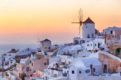 Leinwanddruck Bild Oia - Santorini