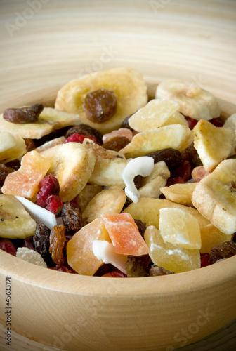 aperitivo con frutta disdratata