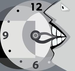 укусить время