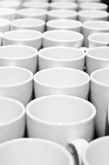 White cups