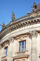 Bode museum in Berlin, blue sky