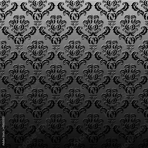 Muster tapete dunkel von kebay lizenzfreier vektor for Muster tapete